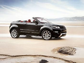 Range Rover Evogue Convertible – скоро на дорогах!